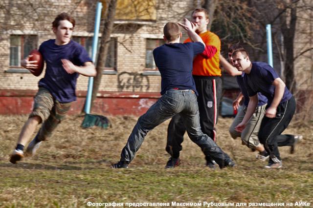 Американский футбол в Обнинске