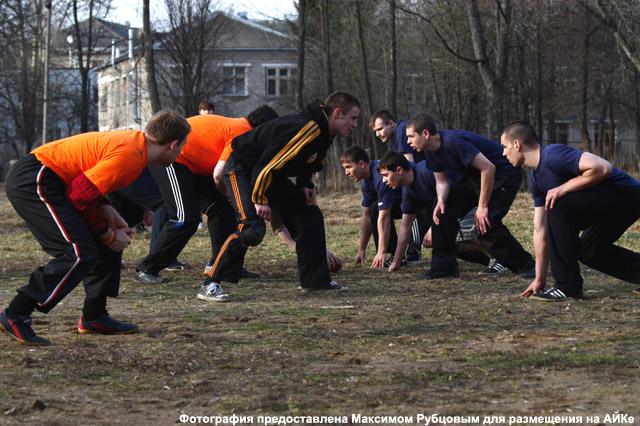 Американский футбол в Обнинске: перед игрой