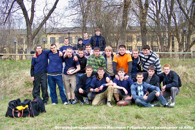 Американский футбол в Обнинске: все игроки