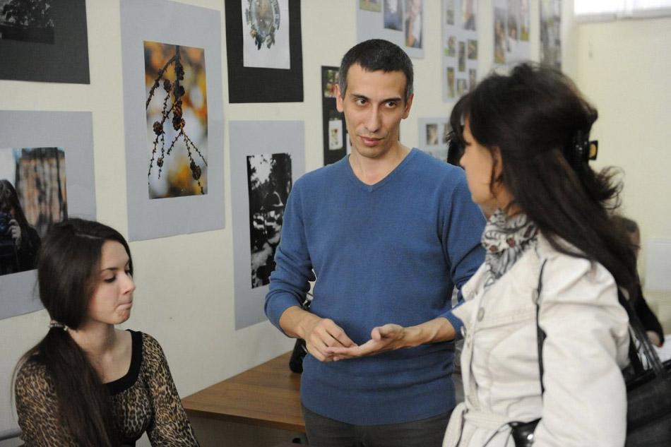 Открытие фотовыставки в Обнинском Молодёжном Центре