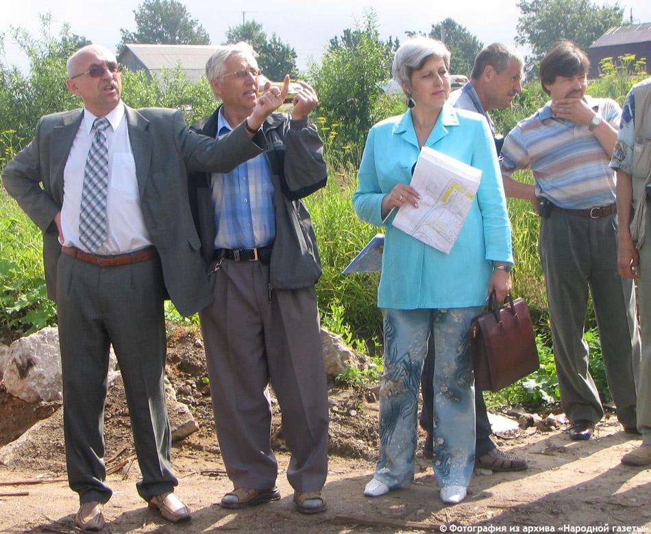 Рейд вдоль Киевского шоссе (Ольга Владимировна Ашварина, Юрий Павлович Голенцов и другие) в июле 2005 года