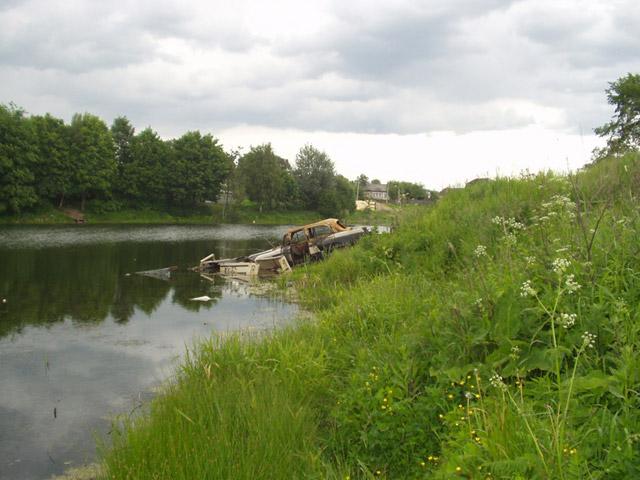Белкинские пруды в пригороде Обнинска (первые годы XXI века)