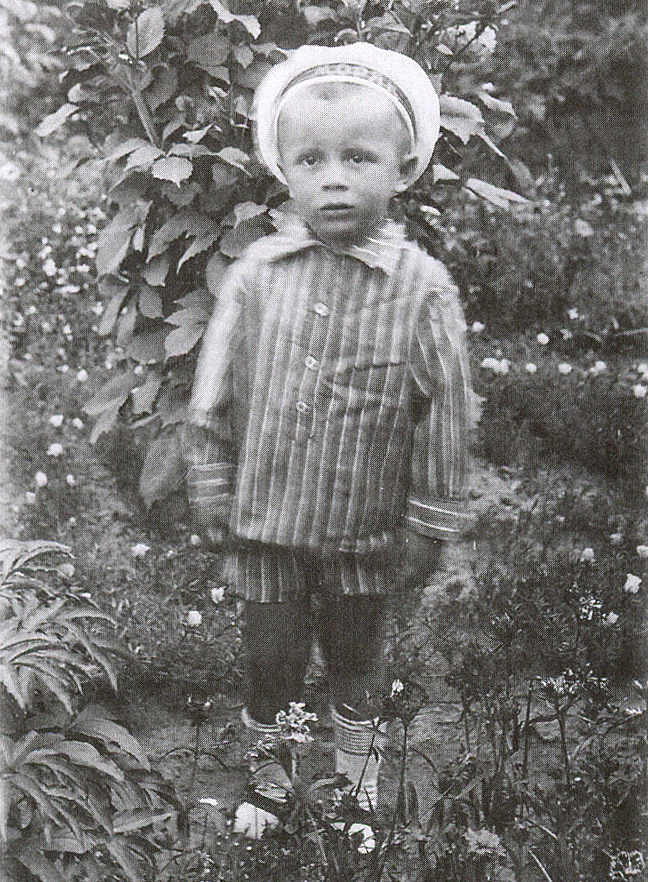 Игорь Бондаренко в трёхлетнем возрасте