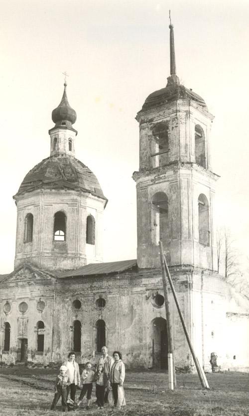 Церковь Бориса и Глеба до начала восстановительных работ