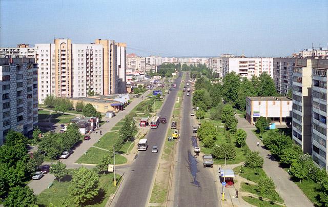 Улица Энгельса в Обнинске