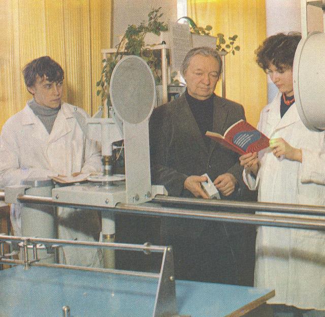 Факультет атомных электростанций ИАТЭ в 1980-х годах