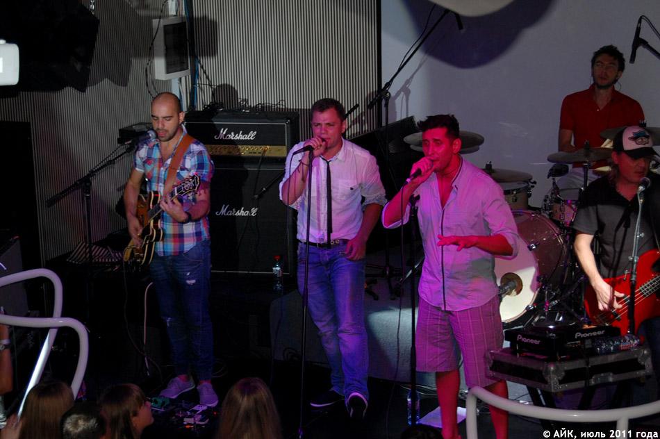 Выступление группы «Градусы» в ночном клубе «Да Винчи»