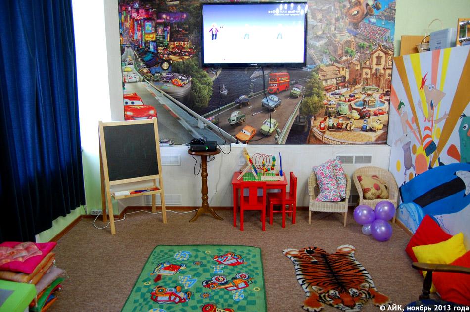 Детская комната ресторана «Грин Хаус» (Green House) в городе Обнинске