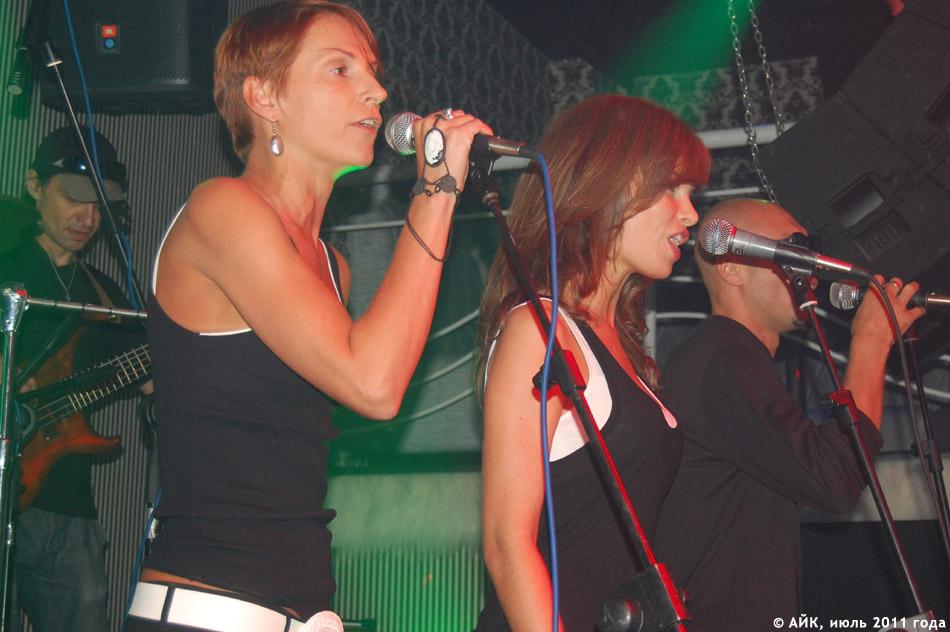 Выступление группы «GуссиЛебеди» в ночном клубе «Да Винчи»