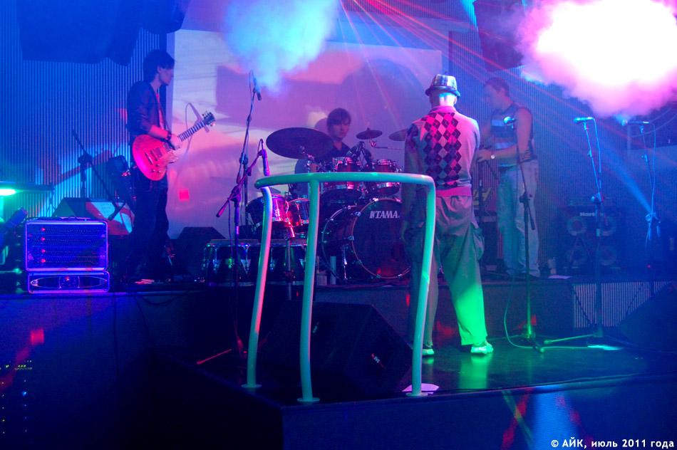Выступление группы «GуссиЛебеди» в ночном клубе «Да Винчи»: проверка звука