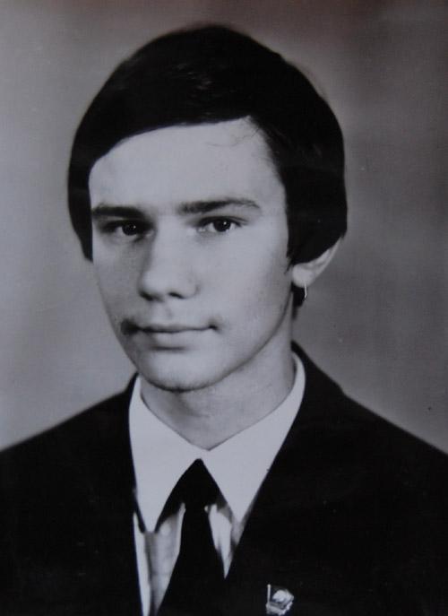 Игорь Вячеславович Сутягин (школьные годы)
