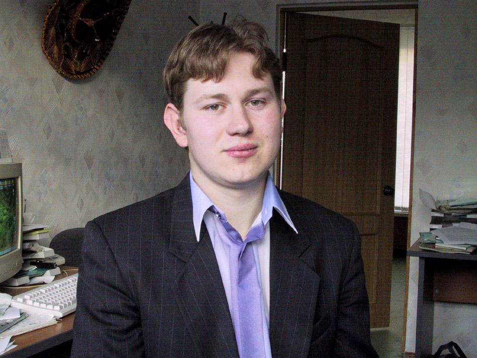 Иван Александрович Галкин в 2001 году