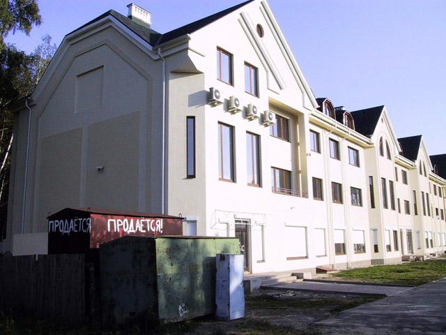 Элитный дом на улице Калужской в Обнинске в начале нулевых