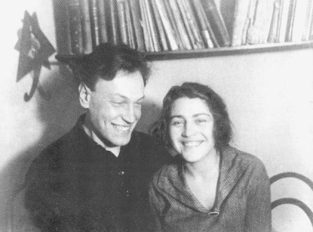 Александр Ильич Лейпунский с женой — Антониной Фёдоровной Прихотько