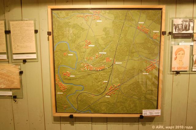Карта-схема посёлка