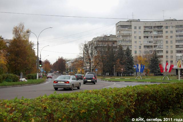 Продолжение проспекта Ленина в Обнинске