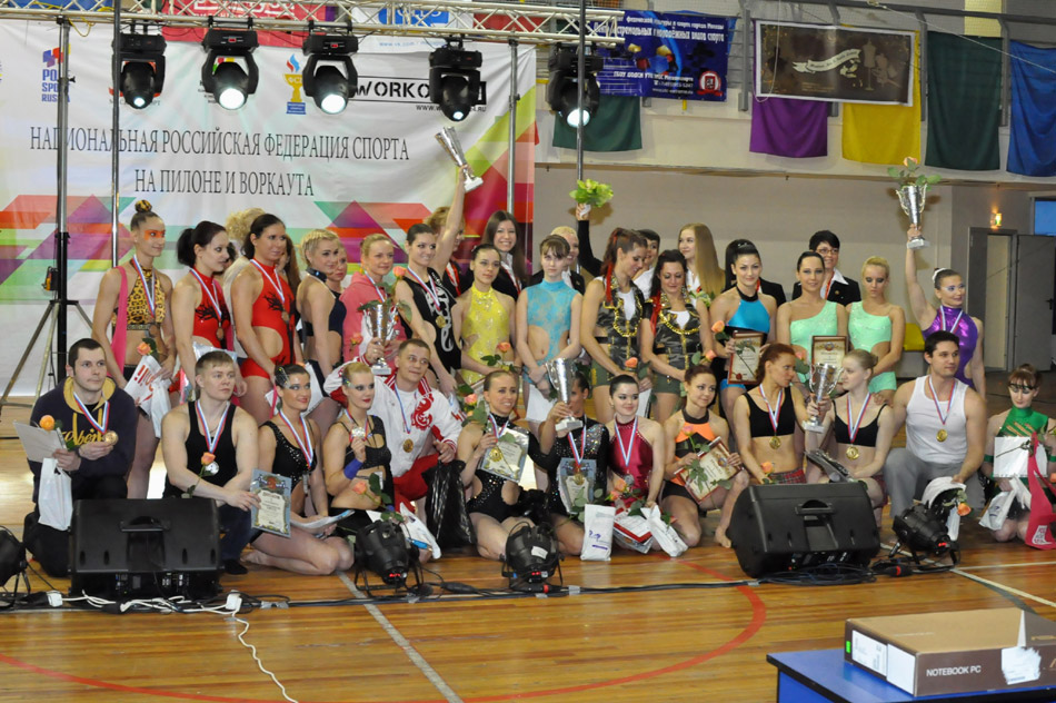 Анастасия Дзюндзяк победила на международном чемпионате MISS POLE DANCE ELITE 2013