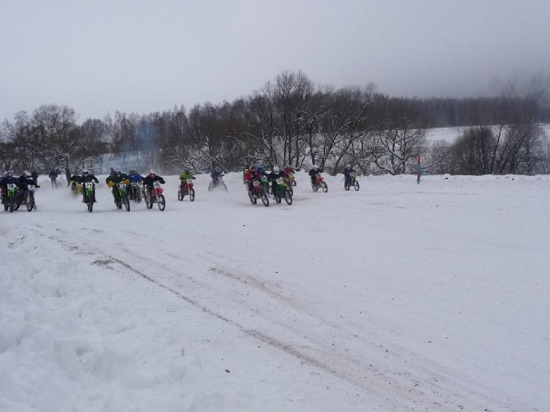 Традиционный зимний мотокросс на приз Первого наукограда России