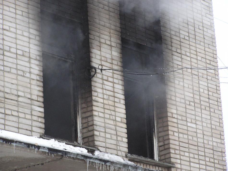 Пожар в ОК-клубе (Обнинском Компьютерном клубе)
