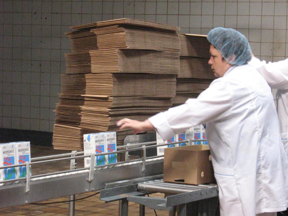 Обнинский молочный завод (производственная линия)