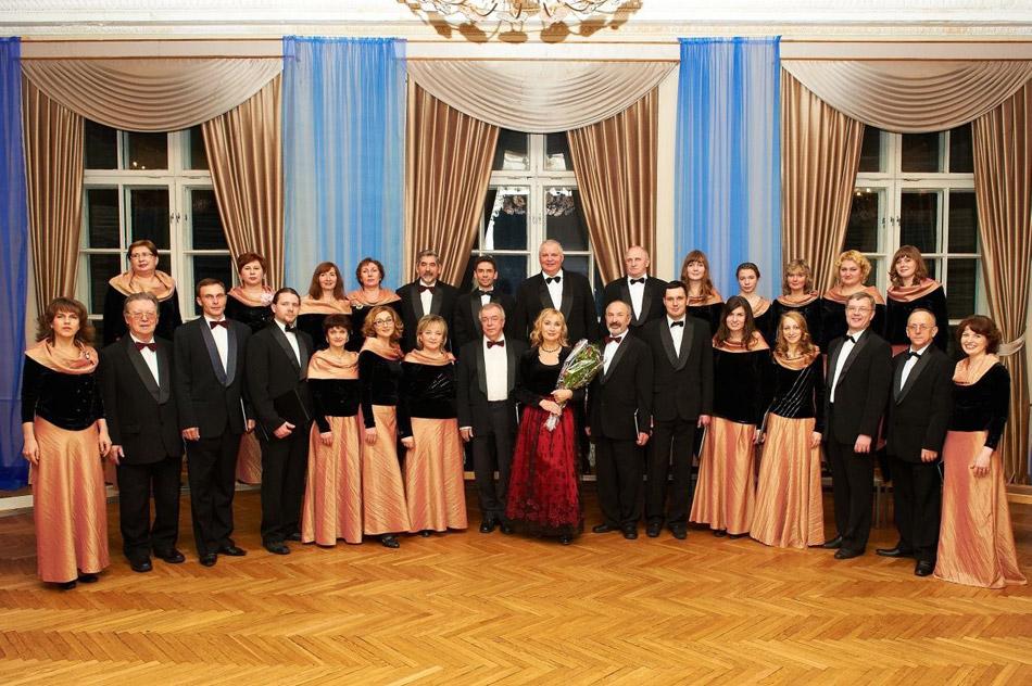 Камерный хор «Партес» в городе Обнинске