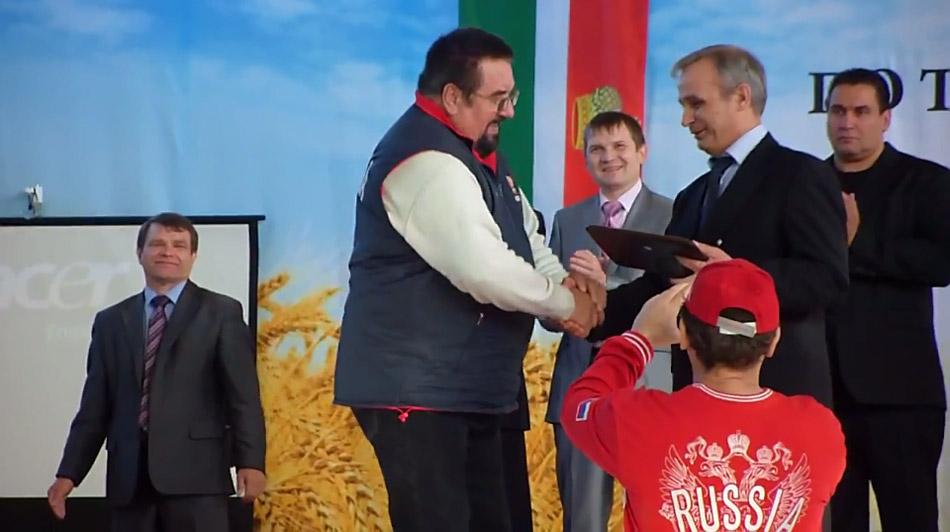 Дан старт Первенству России по тяжёлой атлетике