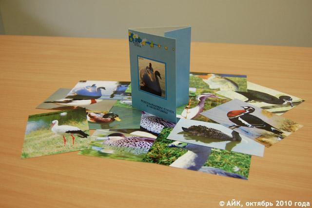 Продукция компании «Полиграфик» в городе Обнинске: открытки