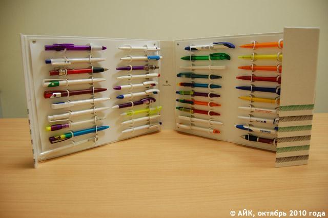 Продукция компании «Полиграфик» в городе Обнинске: сувенирные ручки