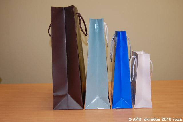 Продукция компании «Полиграфик» в городе Обнинске: бумажные сумки