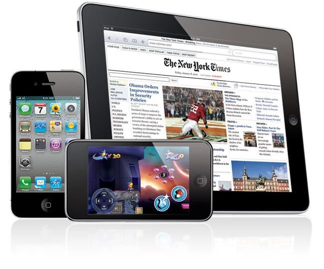 Ремонт техники Apple (iPhone / АйФон, iPod / АйПод, iPad / АйПад) в городе Обнинске