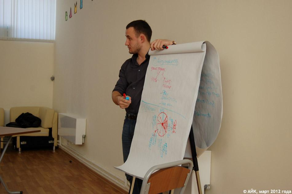 В ОМЦ прошёл второй семинар Школы Гражданской Инициативы