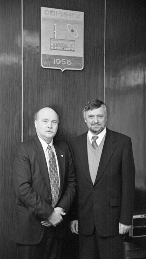 Михаил Владимирович Шубин и Джерри Кухайда