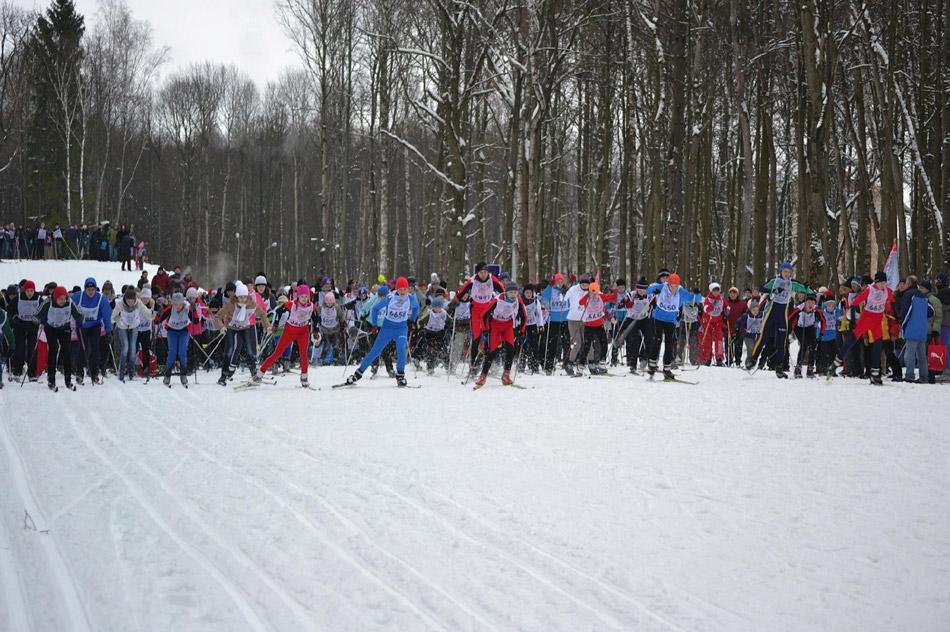 В Обнинске состоялись городские массовые соревнования лыжников