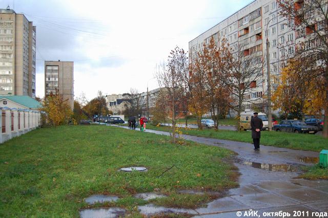 Начало улицы Калужской (вид со стороны улицы Энгельса)