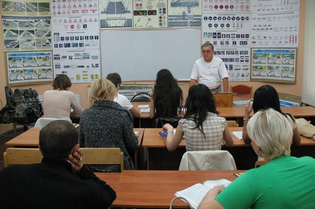 Автошкола «Светофор» в городе Обнинске: учебный класс