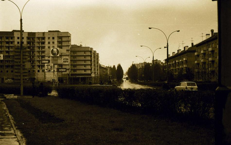 Строящийся дом на Треугольной площади в городе Обнинске