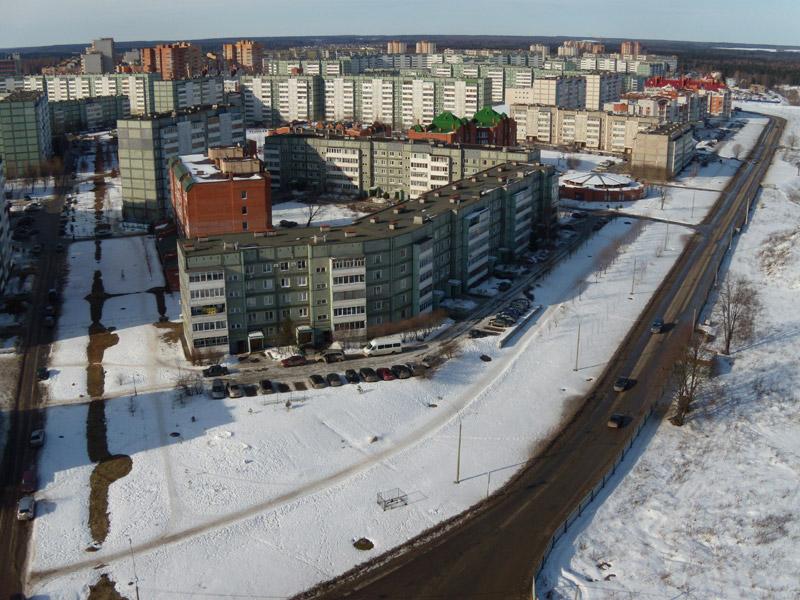 Улица Белкинская в городе Обнинске