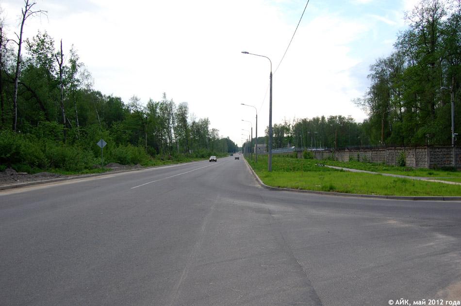 Улица Красных Зорь в городе Обнинске