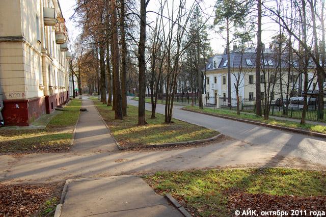 Улица Мигунова в Обнинске