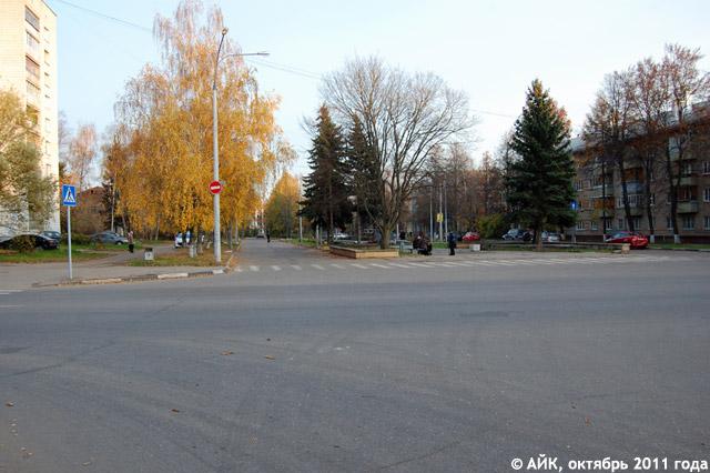 Улица Победы в Обнинске