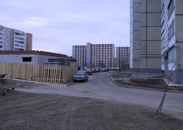 Строящийся магазин «Виктория» на улице Энгельса в городе Обнинске