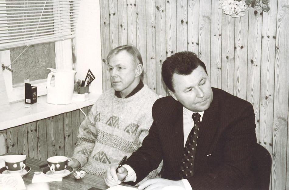 Владимир Васильевич Викулин и Василий Васильевич Рябошапченко
