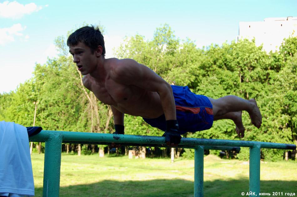 Фотографии с тренировки на турнике (Workout в Обнинске)
