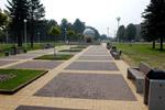 Памятник первопроходцам атомной энергетики в городе Обнинске