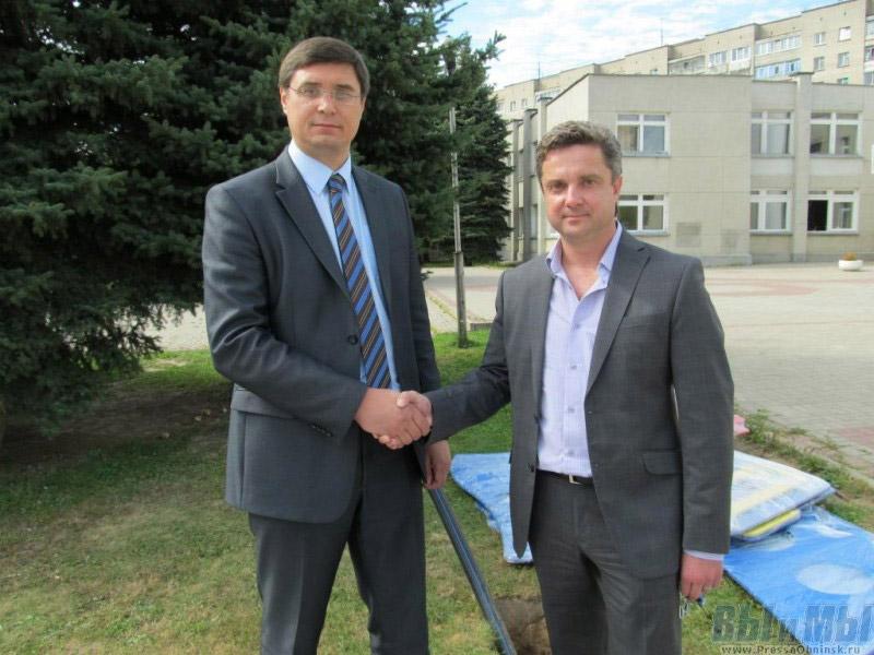 Александр Александрович Авдеев и Павел Михайлович Решетник