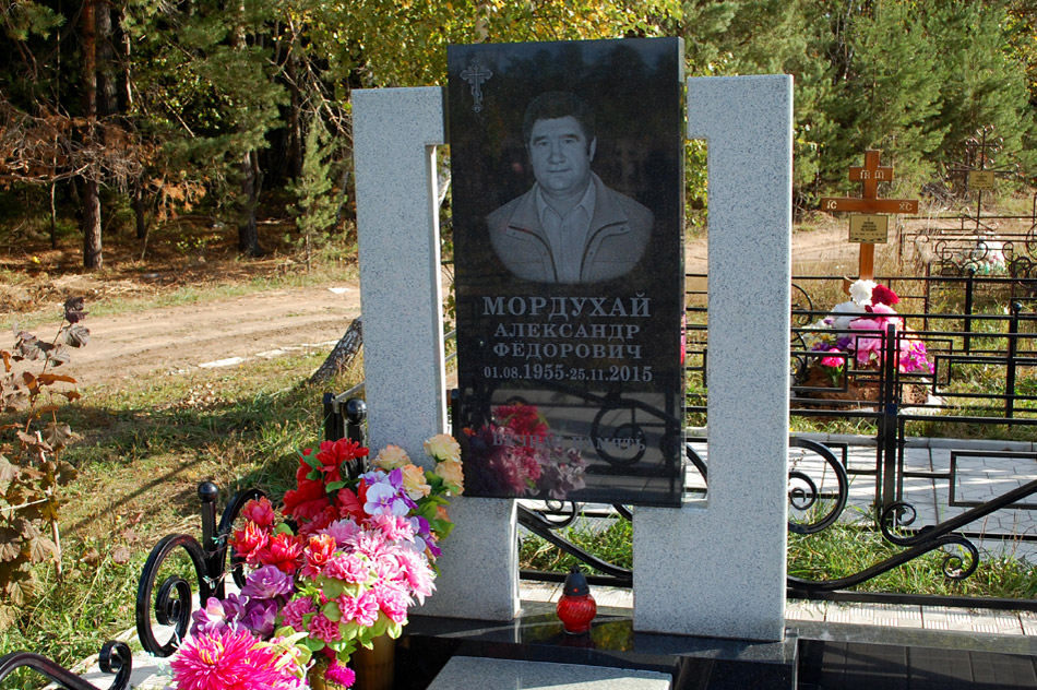 Могила Александра Фёдоровича Мордухая на кладбище «Передоль»