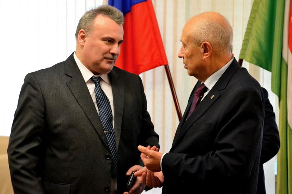 Александр Владимирович Дедов и Виктор Сергеевич Бабурин