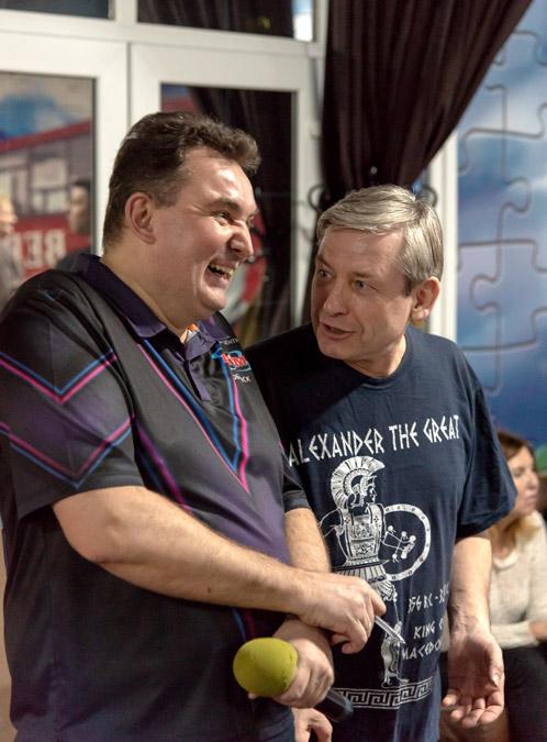 Алексей Владимирович Лепендин и Александр Фёдорович Морозов