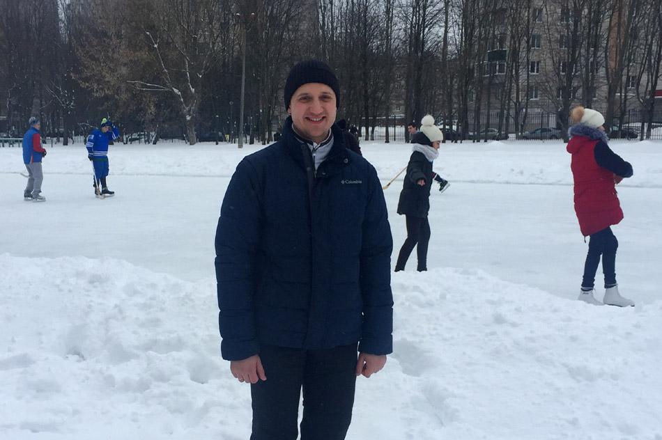 28 января 2017 года Андрей Александрович Зыков участвовал в подготовке и заливке катка рядом со школой №9 в городе Обнинске