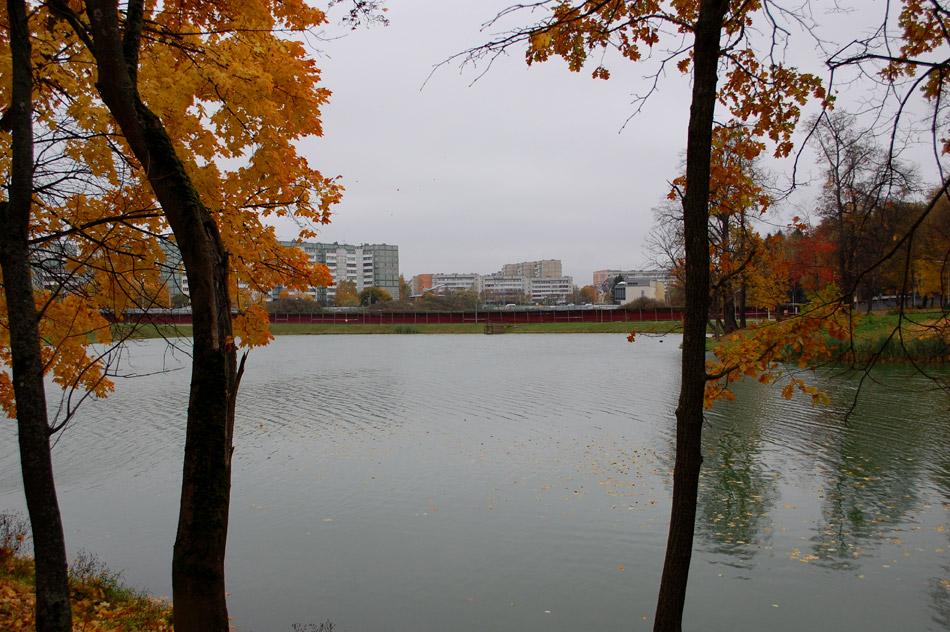 Белкинские пруды в пригороде Обнинска (октябрь 2016 года)